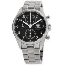 Tag Heuer Carrera Automatic Movement Black Dial Men's Watch CAS2110.BA0730