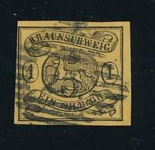 Braunschweig Mi.Nr.6 b gestempelt  Lux Fotobefund BPP