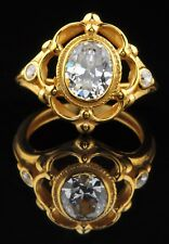14Kt Yellow Gold 2.50 Carat Attractive Oval Shape Solitaire Anniversary Ring