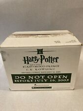 Harry Potter and the Half-Blood Prince Shipping Box - Rare