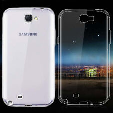 For Samsung Galaxy Note 2 N7100 Ultra Thin Clear Gel skin case cover