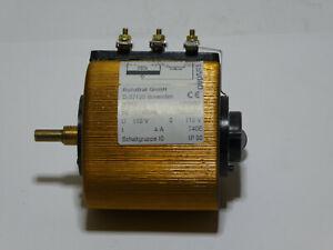 Stelltrafo, Regeltrafo Ruhstrat RTKE 1543/99, 110V, 4A