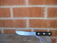 """Antique 6"""" Blade BATTLE AXE BRAND - Shur Kut ** X-Small Carbon Butcher Knife USA"""