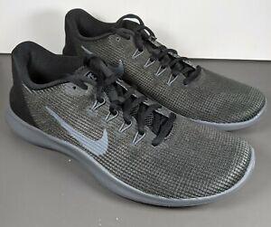 Nike Flex 2018 RN sneakers Training Running Women's Size 9.5 Black Grey