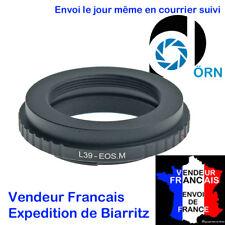 BAGUE MARQUE D�–RN pour ADAPTER OBJECTIF M39 > Canon EOS M, M2, M3, M5, M6, M10,
