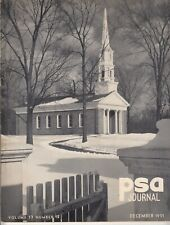 PSA Journal -  December 1951 - Vintage Issue