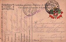 1917 FRANCHIGIA 49° FANTERIA BRIGATA PARMA - GENIO ZAPPATORI - DAL FRONTE C8-302