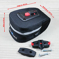KLICKFIX SATTELTASCHE MICRO 100 / 0294S Mdplus - 0,8 Liter Volumen Satteladapter