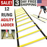 12 Rung Agility Speed Training Ladder Footwork Fitness Football Workout Exercise