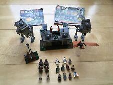Lego Star Wars The Battle of Endor 8038 & AT-ST walker 7657 100% complete.