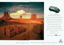 Publicité Advertising 089  1994  Renault Espace Grand Ecran V6 ( 2 pages)