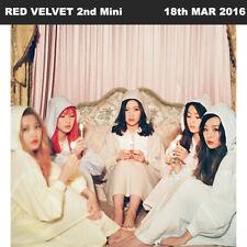 RED VELVET THE VELVET 2nd Mini Album CD+48p Photo Book+1p Card