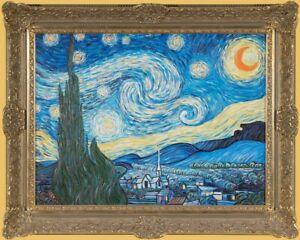 1058-Sternenhimmel (van Gogh) - sign. KUJAU