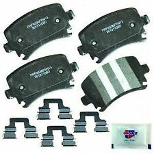 CARQUEST Brakes PMD1108H Rear Premium Semi Metallic Brake Pads