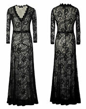 Womens Formal Long Floral Prom Evening Cocktail Party Bridesmaids Full Dresses