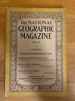 NATIONAL GEOGRAPHIC June 1924 Plant Life, Norwegians, Land Of The Vikings