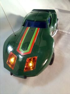 "George Barris ""The Vette"" Vintage Green Radio Control Power Command RC Corvette"