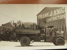 VTG Film Negatives Prints 1930s Bridge Road Construction Trucks Lot of 9 #9015