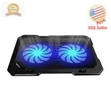 TopMate C302 10-15.6 Laptop Cooler Cooling Pad | Ultra Slim Portable 2 Quiet ...