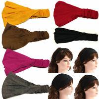 Women Ladies Hairband Head Band Headband Wrap Neck Head Scarf Cap Sports Bandana