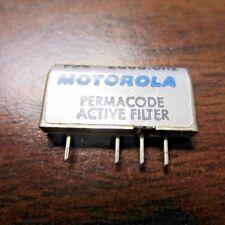 MOTOROLA MINITOR II Active Tone Filter Reed NLN7834a