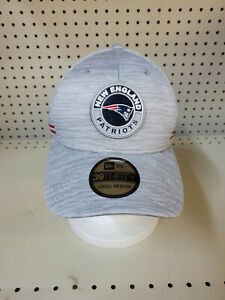 New England Patriots New Era  2020 NFL Sideline Official 39THIRTY Flex Hat, S/M