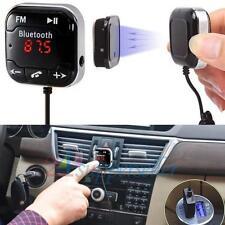 Dual USB Wireless Bluetooth Hands-free FM Transmitter Car Kit MP3 Music Player