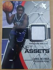 2003-04 E-X Net Assets Game-Used #1 Chris WEBBER