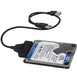 Cavo Adattatore Usb 2.0 Sata Hard Disk 2,5 Pollici Sata PC HD