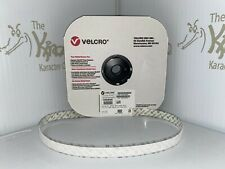 "VELCRO Brand White 3/4"" Knit Loop 3610 Self Adhesive - 25yd Roll - Free Shipping"