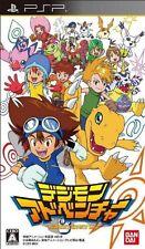 USED PSP Digimon Adventure Bandai namco entertainment Free Shipping Japan Import