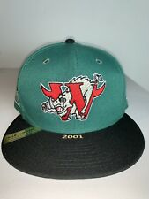 New Era Winston-Salem Warthogs Green 100th Anniversary Patch 59FIFTY Fitted Hat