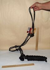 POLY ROPE TIED HALTER with LEAD - Tough 1 - 50-1010 - new with tag