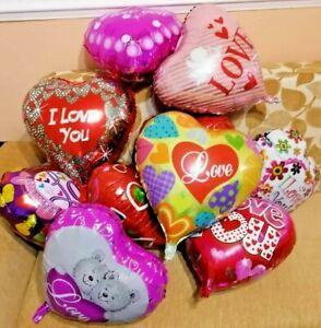 "5 Love Valentine 18""Foil Air/Helium Heart Balloon PARTY Decoration"