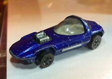 redline silhouette 1967 hot wheels mattel blue clear top us painted base diecast