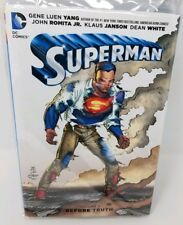 Superman Before Truth Vol. # 1 DC Comics HARDCOVER  Graphic Novel J298