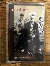 Immature Playtyme Is Over Cassette Tape US MCA R&B Soul