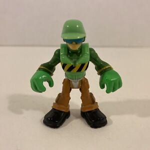 Transformers Rescue Bots WALKER CLEVELAND Figure (Jackhammer Variant) Playskool
