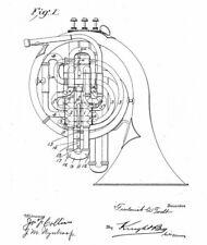 Altes Horn, Kornett, Drum - Fa. CONN (USA): Ideen, Geschichte 1901 - 1980