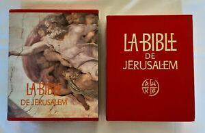 La Bible de Jérusalem - Edition Cerf 1981