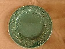 Rowe Pottery Cambridge Forest Green SALAD PLATE -  AS IS