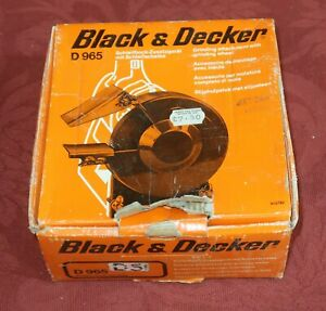 Black and Decker D965 Drill Grinder Attachment