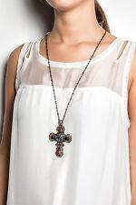 ELISA Cavaletti  Kette Halskette Necklace ELP160505519 Kreuz ! super  SALE  !