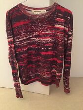 Isabel Marant Pour H&M, Pink Printed Sweatshirt, To Fit XS, Excellent Cond'n