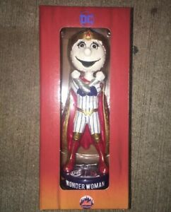 Mrs Met Wonder Woman Bobblehead Marvel New York Mets Superhero SGA May DC Mascot