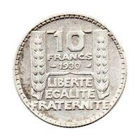 KM# 878 - 10 Francs - Silver (.680) - France 1930 (F)