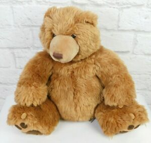 "GUND TEDDY BEAR Grizzly Plush Stuffed Animal 14"" Made For Kohl's Cares"