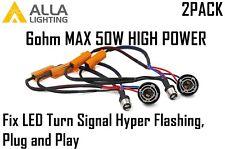 2x 1157 Load Resistor Fix Turn Signal Blinker Hyper/Fast/Quick Flashing/Blinking