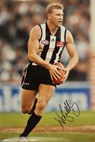 "Collingwood Captain Now Coach Nathan Buckley Autographed Signed Photo 12"" x 18"""