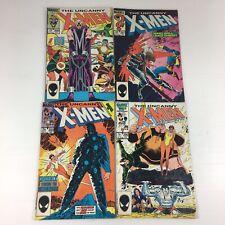 The Uncanny X-Men Job Lot Of 4 #200 #201 #203 & #206 Comics